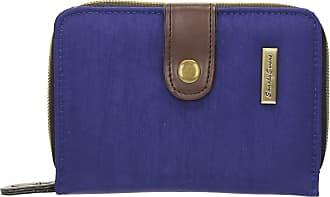 Swankyswans Riley Nylon Womens Small Flip Wallet Purse - SwankySwans (Royal Blue)