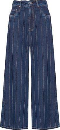 N.Y.B.D. Calça Pantacourt Nervuras N.Y.B.D - Azul