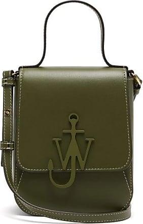 J.W.Anderson Top Handle Anchor-logo Cross-body Bag - Womens - Khaki