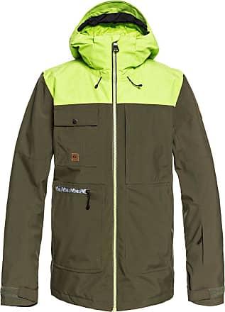 Quiksilver Arrow Wood - Snow Jacket - Men - S - Brown