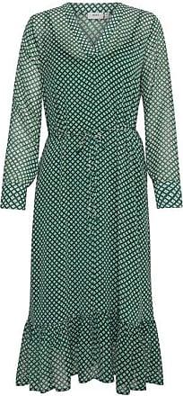 Ichi Ilona Grünes Kleid - EU38 UK10