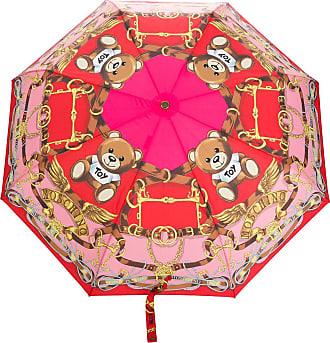 Moschino Toy scarf print umbrella - Red