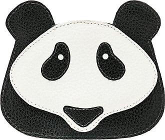 Sarah Chofakian Porta cartão Panda - Preto
