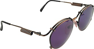 aa392eeb762 Jean Paul Gaultier New Jean Paul Gaultier 56 9174 Black   Copper Detail  Dark Blue Lens
