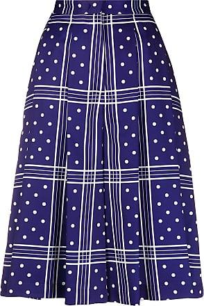 JEJIA Short cintura alta - Azul