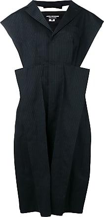 Junya Watanabe structured pinstripe dress - Blue