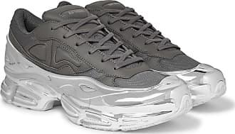 Raf Simons + Adidas Originals Mirrored Ozweego Sneakers - Dark gray