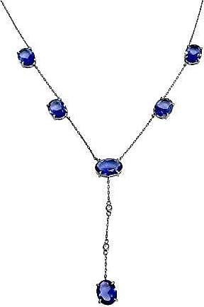 Vivid Corrente Vivid Oval Azul Semi Joia
