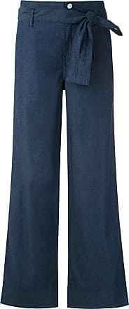 Alcaçuz Calça Namira com amarração - Azul