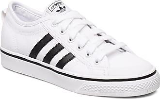 adidas Originals Nizza J Sneakers Skor Vit Adidas Originals