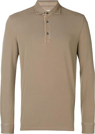 Ballantyne Camisa polo mangas longas - Marrom