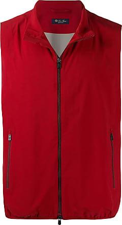 Loro Piana classic gilet jacket - Red