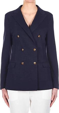 Eleventy Fashion Woman A80GIAA06TES0A16211 Blue Cotton Blazer | Spring Summer 20