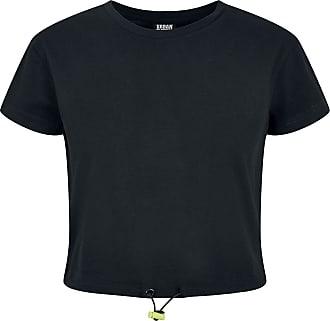Urban Classics Ladies Cropped Tunnel Tee - T-Shirt - schwarz