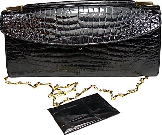 7082af5fc51a Delvaux Rare And Vintage Delvaux Black Crocodile Clutch Or Evening Bag    Good Condition