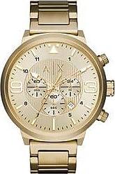 A|X Armani Exchange Relógio Armani Exchange Masculino Dourado Atlc