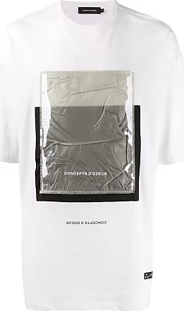 Odeur Camiseta Artwork - Branco