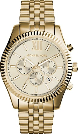 Michael Kors MK8281 Gents Lexington Oversize Watch Gold-Tone