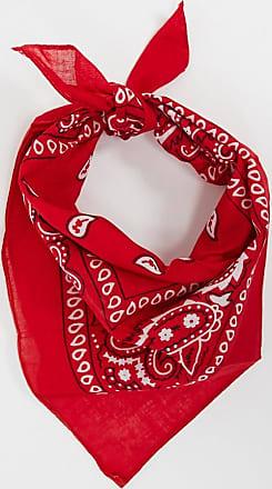 7X SVNX patterned bandana-Red