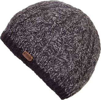 KuSan 100% Wool Cable Twisted Yarm Beanie Hat PK1727 (Navy)