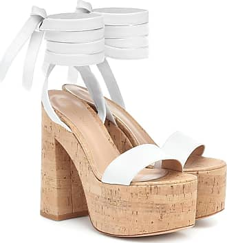 Gianvito Rossi Ambra leather platform sandals