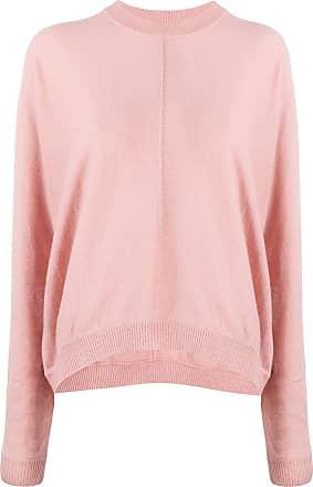 Aspesi Suéter decote careca de tricô - Rosa