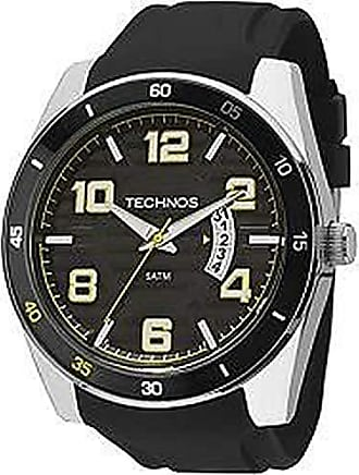 Technos Relógio Masculino Technos Analógico 2115Ksr/8Y Prata