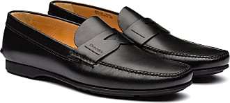 Churchs Calf Leather Loafer Man Black Size 10,5