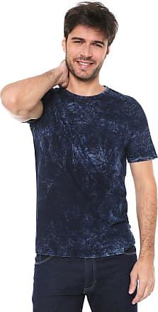 Malwee Camiseta Malwee Estonada Azul-marinho
