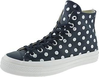 Converse 155459C CTAS 70HI Hightop Sneakers Leather Black/Silver Black Size: 7.5 UK