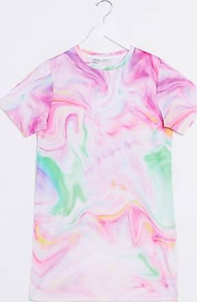 Noisy May Vestito T-shirt tie-dye-Multicolore