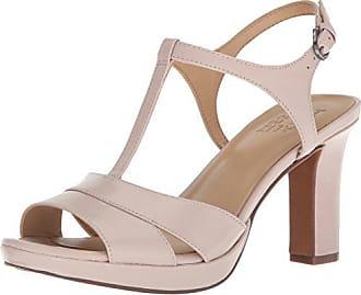 Naturalizer Womens FINN Heeled Sandal, Marble, 9 M US