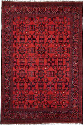 Nain Trading 297x201 Tappeto Khal Mohammadi Ruggine/Viola (Lana, Afghanistan, Annodato a mano)