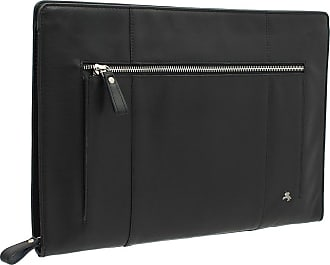 Visconti Merlin Collection HANZ Leather Document Holder/Folio Case ML26 Black