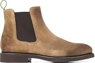 Doucal's Fashion Man DU1343GENOUF024AL00 Beige Suede Ankle Boots | Fall Winter 19