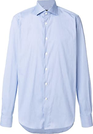 Dell'Oglio classic long-sleeve shirt - Azul