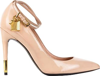 a0b39cfe621 Tom Ford Womens Blush Lacquered Leather Padlock Pumps
