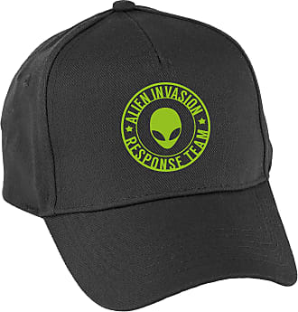 HippoWarehouse Alien Invasion Response Team Baseball Cap hat Premium Printed 5 Panel OneSize Adults Black