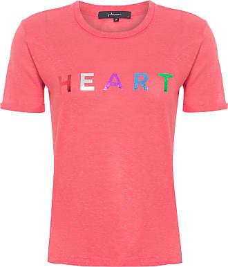 J. Chermann Camiseta Heart - Vermelho