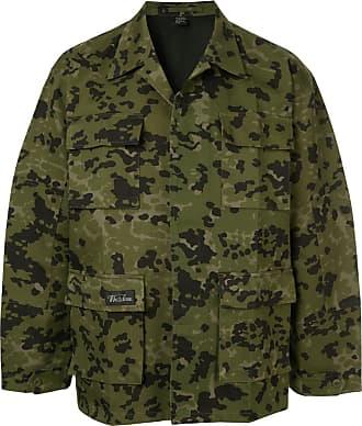 We11done Jacke mit Camouflage-Print - Grün