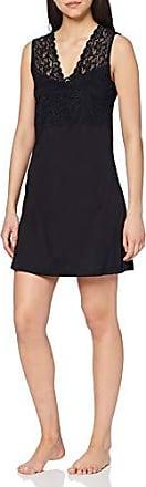 Schwarz X-Large Taglia produttore: XL Donna black 0019 Nero HANRO Camicia da notte