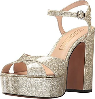 Marc Jacobs Womens Lust Platform Sandal, Diamond, 37 EU/7 M US