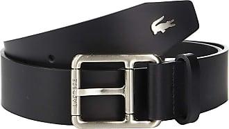 6dc5ee4d14a93 Lacoste Buckle Belt w  Croc Detailing (Black) Mens Belts