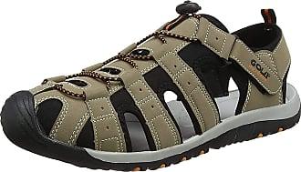 Gola Mens AMP648 Hiking Sandals, Beige (Taupe/Black/Burnt Orange FB), 11 UK 45 EU