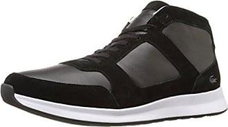 ed30fca5f0e2e8 Lacoste Mens Joggeur Mid 316 1 Cam Fashion Sneaker Black 10.5 M US