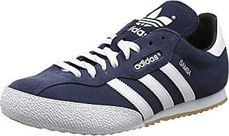 competitive price f25c4 42e42 adidas Herren Samba Super Suede Sneaker, Blau (Navy), 42 23