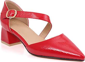 5fd8ef26084b Unze Unze Women Emberly Closed Heel Cup Adorable Low Chunky Block Heel  Cross Over Buckle Strap