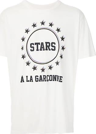 À La Garçonne T-shirt Stars À La Garçonne + Hering - Branco