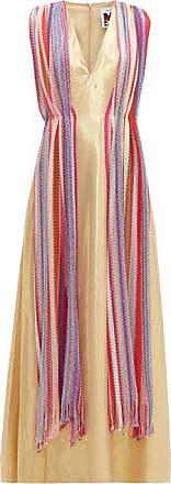 M Missoni Vintage-scarf Silk-blend Lamé Maxi Dress - Womens - Multi