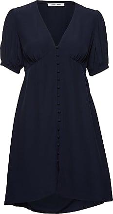 Samsøe & Samsøe Petunia Short Dress 10056 Knälång Klänning Blå Samsøe Samsøe